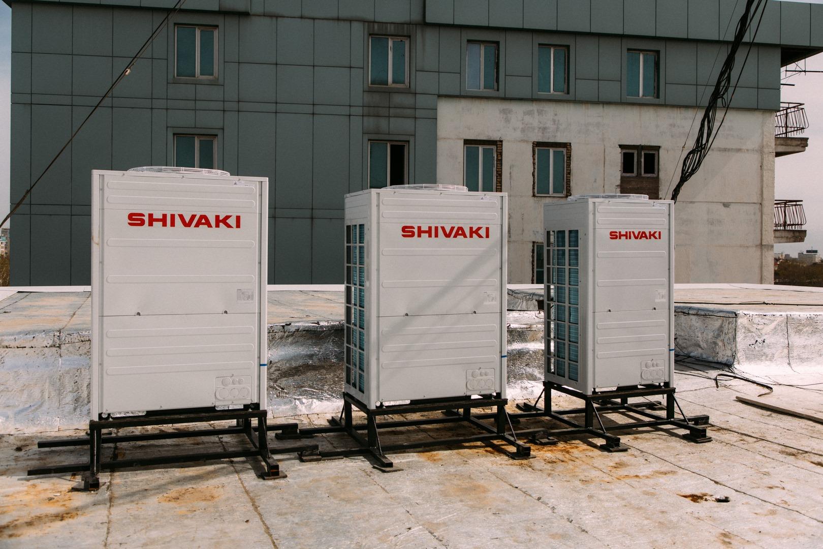 Outdoor units of VRF system Shivaki