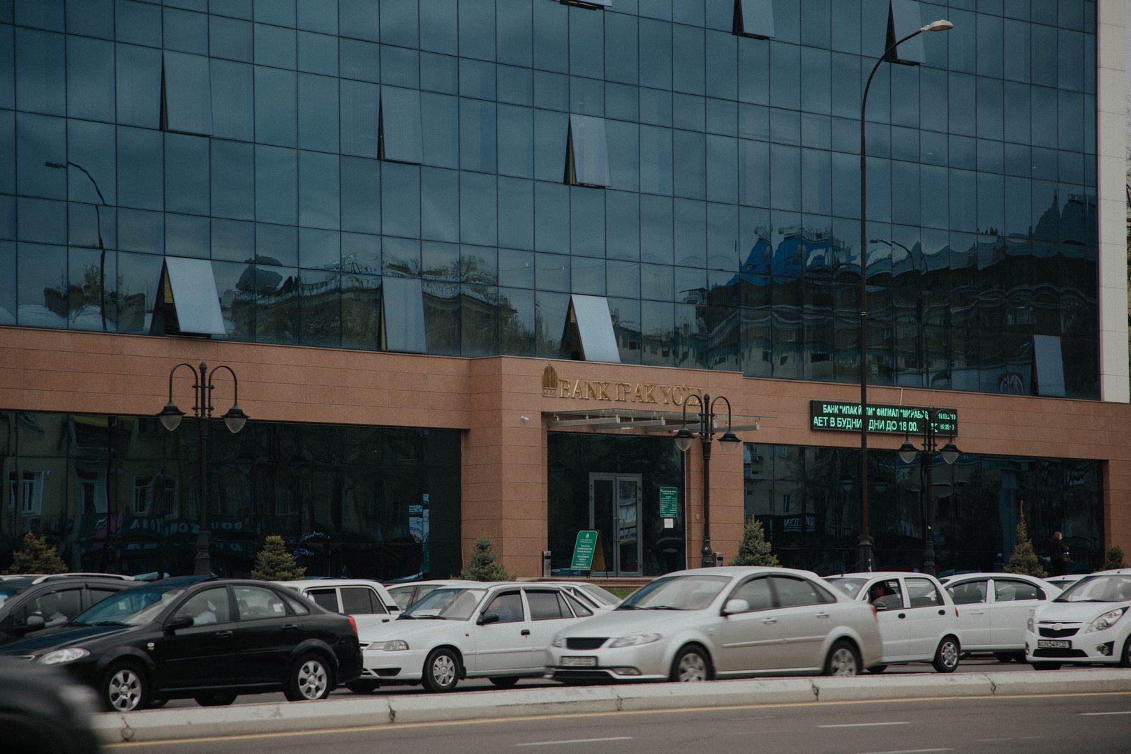 Bank in Mirabad region