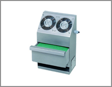 Air filters for refrigeration chambers
