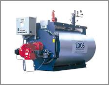 Industrial hot water boilers