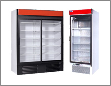 Refrigerating cabinets