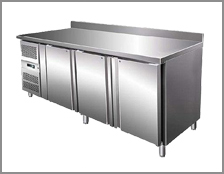 Refrigerated tables