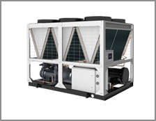 Chillers with air cooling
