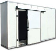 Установка холодильных комнат