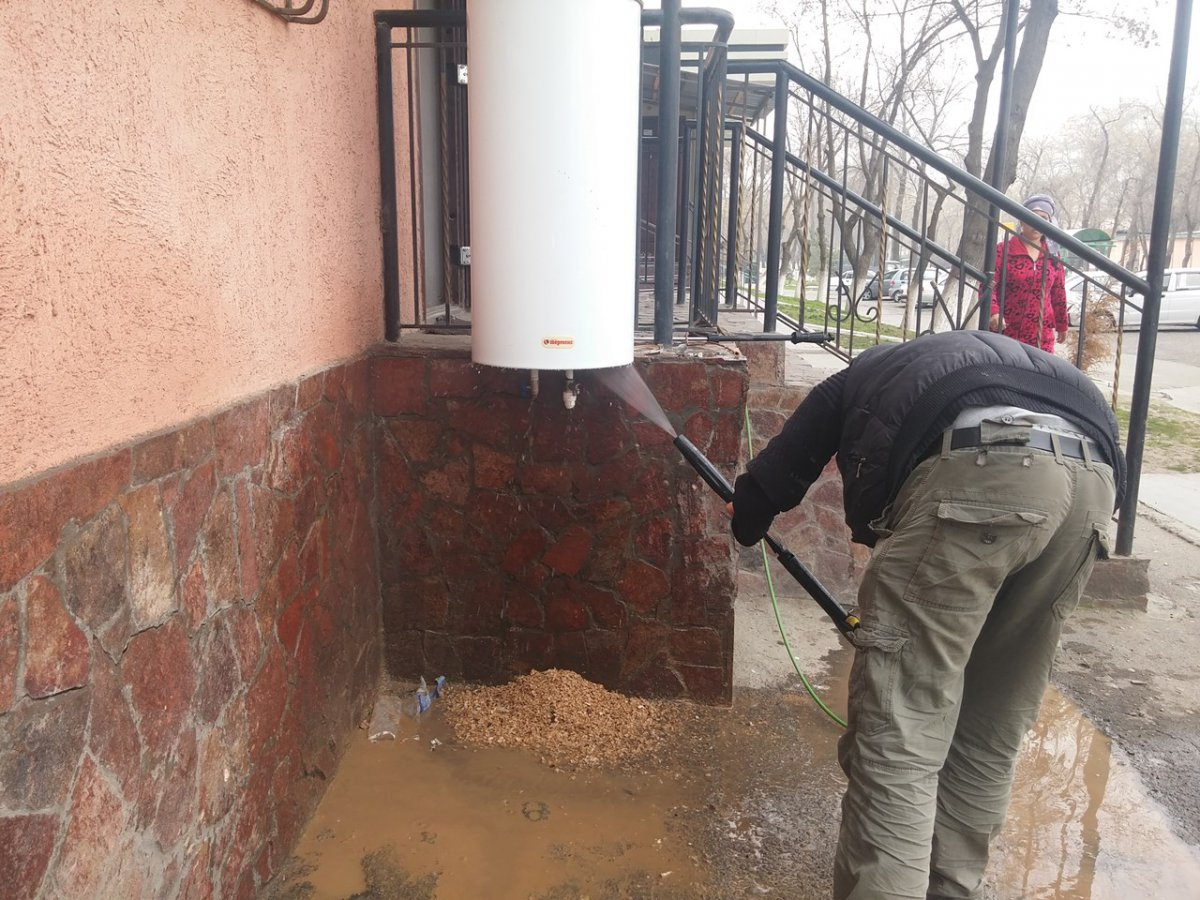 Чистка водогрейного котла в Ташкенте