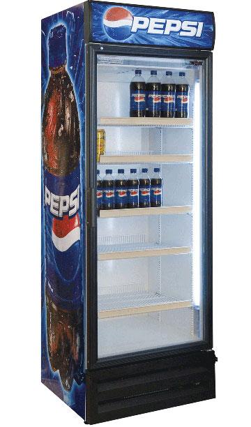 Шкафы холодильные Pepsi