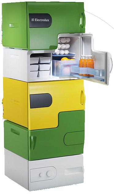 Инновационный холодильник Electrolux