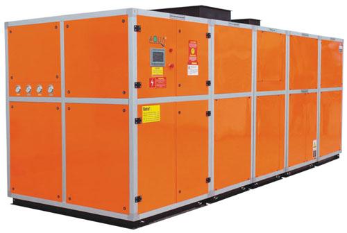 приточно-вытяжная вентиляционная система для бассейнов с осушением обогревом и охлаждением воздуха
