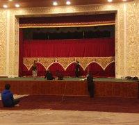Монтаж системы вентиляции в театре г.Джиззак