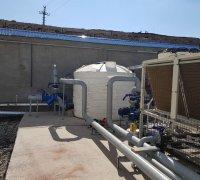 Аккумулирующая емкость для хладоносителя в системе холодоснабжения