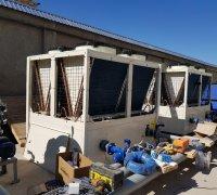 Чиллеры Shivaki на заводе по производству телевизоров г.Нукус