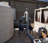 Гидромодуль для чиллеров Shivaki в системе охлаждения станков на заводе по производству телевизоров г.Нукус