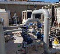 Гидромодуль для сухих градирнь на заводе по производству телевизоров в г.Нукус
