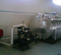 Изоляция трубопроводов, идущих к емкости для хладагента
