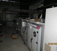 Монтаж климатического оборудования на заводе инсулина. г.Андижан.