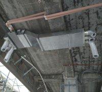 Монтаж канального фанкойла и воздуховодов