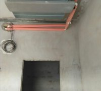 Монтаж канального фанкойла в гостинице Узбекистан г.Ургенч