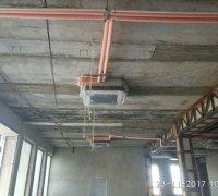 Монтаж канального фанкойла в гостинице Узбекистан г.Ургенч и прилегающих к ним труб