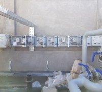 Панели управления узлом водо-холодоснабжения для системы охлаждения станков на заводе по производству телевизоров г.Нукус