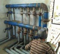 Сварочные работы по сборке распределительного коллектора системы кондиционирования и холодоснабжения