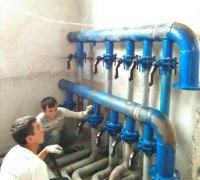 Распределительный коллектор системы кондиционирования и холодоснабжения