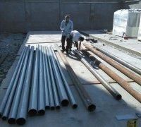 Гидроизолирование труб для трассы тепло-холод