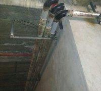 Прокладка трубопропровода системы кондиционирования (Чиллер-фанкойл)