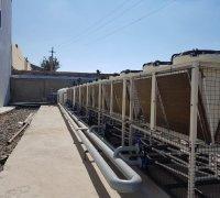 Сухие градирни на заводе по производству телевизоров в г.Нукус