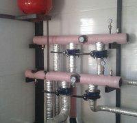 Термоизолирование теплового узла