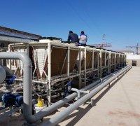 Узел ввода холодоснабжения для системы охлаждения станков