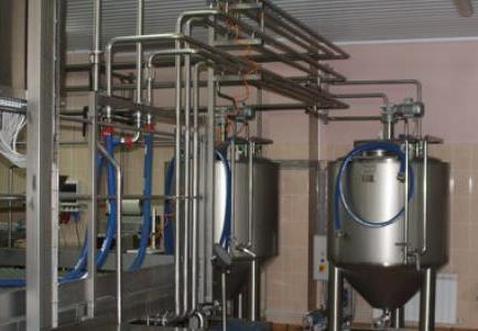 Парогенератор для молочного завода