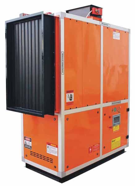 вентиляционная система с осушением подогревом и охлаждением воздуха