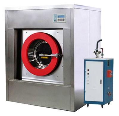 Стиральная машина для прачечной и парогенератор
