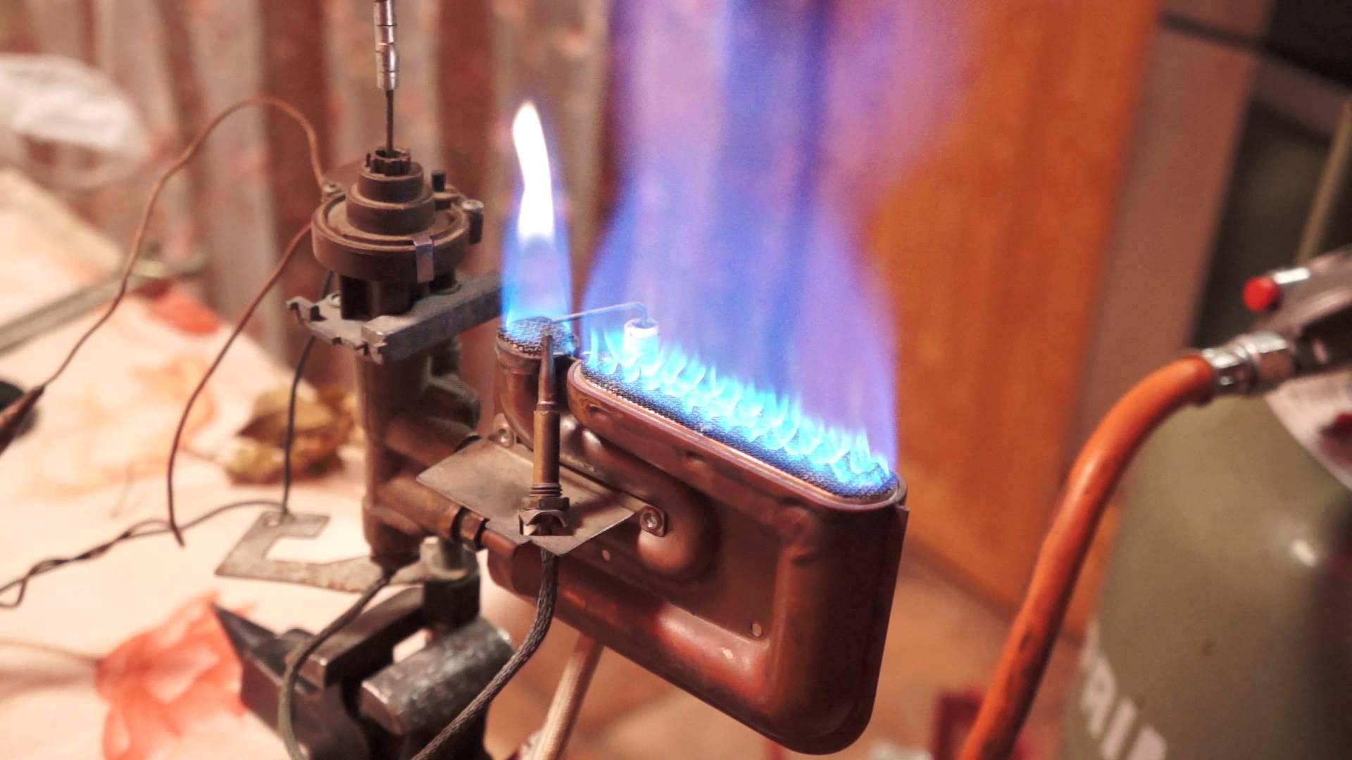 Газ горелкаларига хизмат кўрсатиш