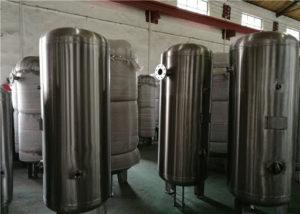 Регулируемая газовая среда: Баки для хранения газа