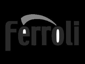FERROLI логотип ч.б