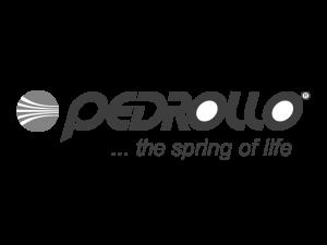 PEDROLLO логотип ч.б