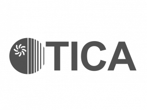 TICA логотип ч.б